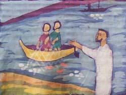 Batik appel des disciples